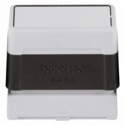 Sello Personaliz. Ent.Aut. Brother 60x22 Mm. Negro