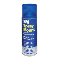 Pegamento En Spray 3m 400ml Mount Removible (Bote Azul)