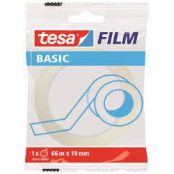 Cinta Adhesiva Tesa Basic Transparent Rollo 66x19