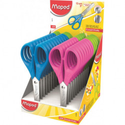 Tijeras Escolares Maped Essential/Start 13 Cm. Expositor De 24