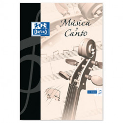 Block De Musica Oxford A4 24h (12 Pent. Y 12 Cd.5x5)