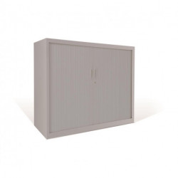 Armario Gapsa Metalico De Persiana Vertical Standard 1050x1020x450 Mm. Color Estructura Y Persiana 9006 (No Incluye E...