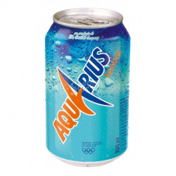 Refresco Aquarius Naranja Lata 330ml