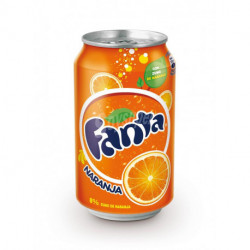 Refresco Fanta Naranja Lata 330ml