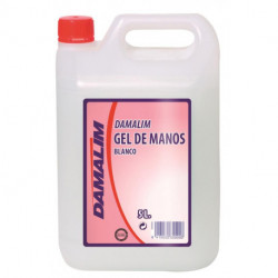 Gel De Manos Blanco Damalin 5 Litros