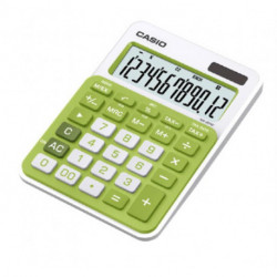 Calculadora Sobremesa Casio 12 Digitos Ms-20uc Verde